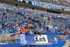 Οπαδοί ποδοσφαίρου Στοκ εικόνα με δικαίωμα ελεύθερης χρήσης