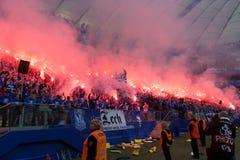 Οπαδοί ποδοσφαίρου Στοκ Φωτογραφία