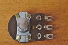 Οπισθοσκόπος ενός περιστροφικού ποτενσιόμετρου στοκ φωτογραφίες με δικαίωμα ελεύθερης χρήσης