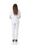 Οπισθοσκόπος της ασιατικής νοσοκόμας Στοκ Φωτογραφία