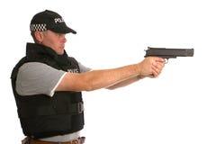οπλισμένη αστυνομία μυστική Στοκ εικόνες με δικαίωμα ελεύθερης χρήσης