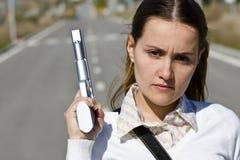οπλισμένος μελετητής Στοκ εικόνα με δικαίωμα ελεύθερης χρήσης