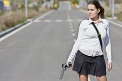 οπλισμένος μελετητής Στοκ Φωτογραφία