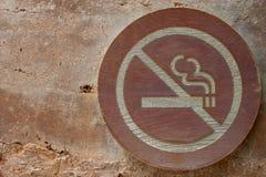 οποιοιδήποτε δεν είναι μπορούν εικόνες να περιορίσουν κανένα επαν μέγεθος σημαδιών καπνίζοντας στο διάνυσμα Στοκ Φωτογραφίες