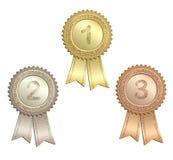 οποιοδήποτε βραβείο είναι μπορεί ξελεπιασμένο κορδέλλες μέγεθος διάλυσης απώλειας εικόνας απεικόνισης στο διάνυσμα Στοκ φωτογραφία με δικαίωμα ελεύθερης χρήσης