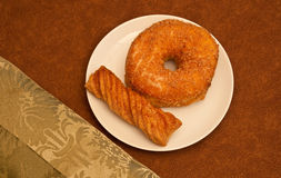 οποτεδήποτε ημέρα donuts στοκ εικόνες