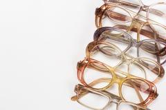 Οπτικά εκλεκτής ποιότητας γυαλιά που απομονώνονται στοκ φωτογραφία