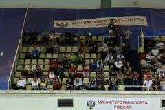Οπτικές θέσεις στην πισίνα ολυμπιακή στη Μόσχα Στοκ Εικόνες