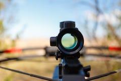 Οπτική βαλλίστρα θέας Στοκ εικόνα με δικαίωμα ελεύθερης χρήσης
