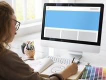Οπτική κενή έννοια προτύπων σχεδιαγράμματος διακριτικών προτύπων Στοκ Εικόνα