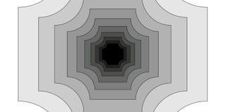 Οπτική παραίσθηση Clipart διανυσματική απεικόνιση