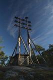 Οπτικός τηλέγραφος Στοκ φωτογραφίες με δικαίωμα ελεύθερης χρήσης
