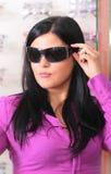 οπτικός brunette Στοκ Εικόνα