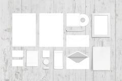 Οπτικό εταιρικό πρότυπο άποψης ταυτότητας τοπ Λογότυπο, παρουσίαση σχεδίου Στοκ φωτογραφία με δικαίωμα ελεύθερης χρήσης