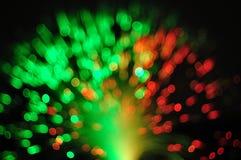 Οπτικό καλώδιο δικτύων ινών Στοκ Εικόνες