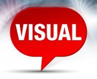 Οπτικό κόκκινο υπόβαθρο φυσαλίδων ελεύθερη απεικόνιση δικαιώματος