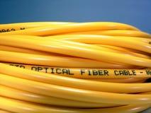 οπτικών ινών μπάλωμα σκοινιού Στοκ εικόνα με δικαίωμα ελεύθερης χρήσης