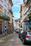 Οπόρτο/Πορτογαλία - 08 07 2017: Άποψη των οδών του Οπόρτο, Πορτογαλία Στοκ Εικόνα