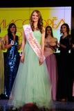 Ορέλ, Ρωσία - 20 Δεκεμβρίου 2015: Διαγωνισμός ομορφιάς της Δεσποινίσς Orel 2015 Στοκ εικόνες με δικαίωμα ελεύθερης χρήσης