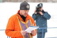 Ορέλ, Ρωσία - 19 Ιανουαρίου 2016: Ρωσική epiphany γιορτή Στοκ Εικόνα