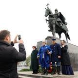 Ορέλ, Ρωσία - 14 Οκτωβρίου 2016: Ivan το φοβερό μνημείο ανοικτό Στοκ Εικόνες