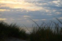 Ορίζοντας από τους αμμόλοφους Στοκ φωτογραφίες με δικαίωμα ελεύθερης χρήσης
