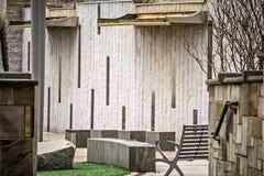 Ορίζοντας και περίχωρα πόλεων της βόρειας Καρολίνας του Σαρλόττα Στοκ Εικόνες