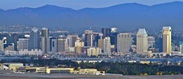ορίζοντας Καλιφόρνιας Diego SAN στοκ εικόνες με δικαίωμα ελεύθερης χρήσης