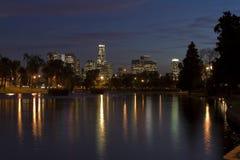 ορίζοντας νύχτας της Angeles Los Στοκ εικόνες με δικαίωμα ελεύθερης χρήσης
