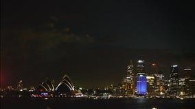 Ορίζοντας νύχτας του Σίδνεϊ φιλμ μικρού μήκους