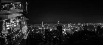 ορίζοντας νύχτας του Χο&gamma Στοκ Εικόνες