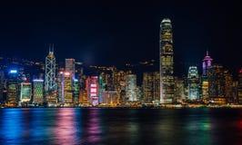 ορίζοντας νύχτας του Χο&gamma Στοκ φωτογραφία με δικαίωμα ελεύθερης χρήσης