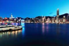 ορίζοντας νύχτας του Χο&gamma Στοκ εικόνα με δικαίωμα ελεύθερης χρήσης