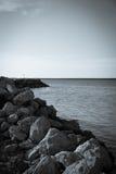 Ορίζοντας πέρα από τη θάλασσα Στοκ εικόνα με δικαίωμα ελεύθερης χρήσης