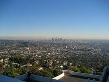 ορίζοντας παρατηρητήριων της Angeles griffith Los Στοκ φωτογραφία με δικαίωμα ελεύθερης χρήσης