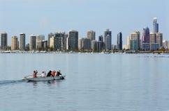Ορίζοντας παραδείσου Surfers - Gold Coast Queensland Αυστραλία Στοκ φωτογραφία με δικαίωμα ελεύθερης χρήσης