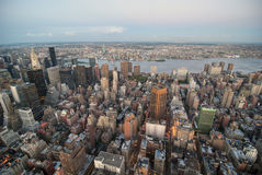 Ορίζοντας πόλεων της Νέας Υόρκης, ΗΠΑ, 2007 στοκ εικόνες με δικαίωμα ελεύθερης χρήσης