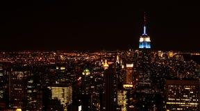Ορίζοντας πόλεων της Νέας Υόρκης Στοκ Εικόνες