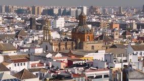 Ορίζοντας πόλεων της Σεβίλης απόθεμα βίντεο