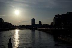 Ορίζοντας πόλεων του Δουβλίνου Στοκ Εικόνες