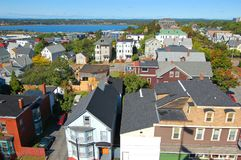 Ορίζοντας πόλεων του Πόρτλαντ, Μαίην, ΗΠΑ Στοκ φωτογραφίες με δικαίωμα ελεύθερης χρήσης