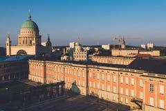 Ορίζοντας πόλεων του Πότσνταμ Στοκ φωτογραφία με δικαίωμα ελεύθερης χρήσης