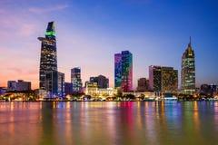 Ορίζοντας πόλεων του Ho Chi Minh στοκ φωτογραφίες με δικαίωμα ελεύθερης χρήσης