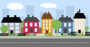 ορίζοντας πόλεων απεικόνιση αποθεμάτων