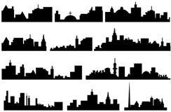 ορίζοντας πόλεων Στοκ φωτογραφία με δικαίωμα ελεύθερης χρήσης