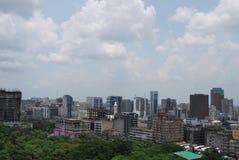 Ορίζοντας πόλεων Dhaka στοκ φωτογραφίες με δικαίωμα ελεύθερης χρήσης