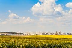 Ορίζοντας πόλεων Gubkin, περιοχή Belgorod, της Ρωσίας Στοκ εικόνες με δικαίωμα ελεύθερης χρήσης