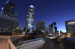 ορίζοντας πόλεων Los της Angeles Στοκ Εικόνες