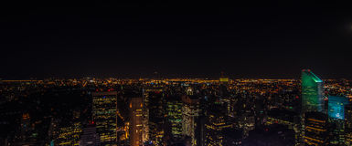 Ορίζοντας πόλεων της Νέας Υόρκης στοκ φωτογραφίες