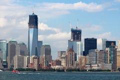 Ορίζοντας πόλεων της Νέας Υόρκης Στοκ φωτογραφία με δικαίωμα ελεύθερης χρήσης